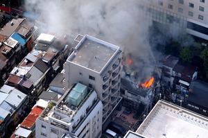 新宿ゴールデン街の火事の原因は?放火の可能性はあるのか?