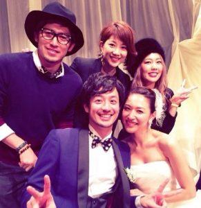 竹財輝之助の結婚式