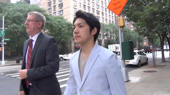 小室圭と弁護士らしき人物